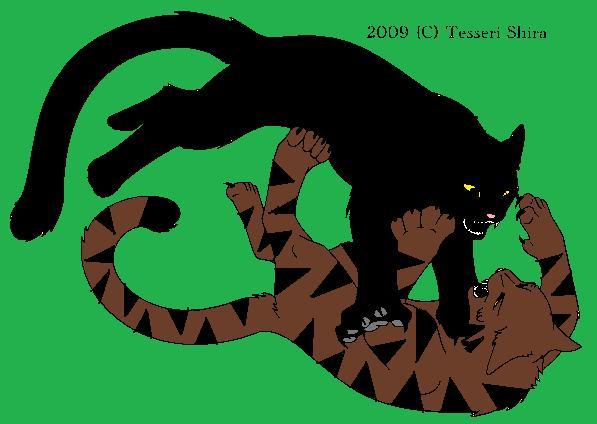 Tigerstar vs. Scourge by WarriorCatFanatic