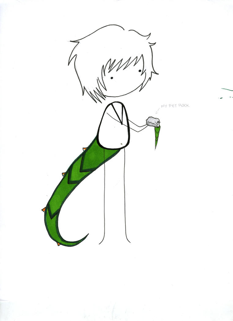Lizard Boy by BowenSagara