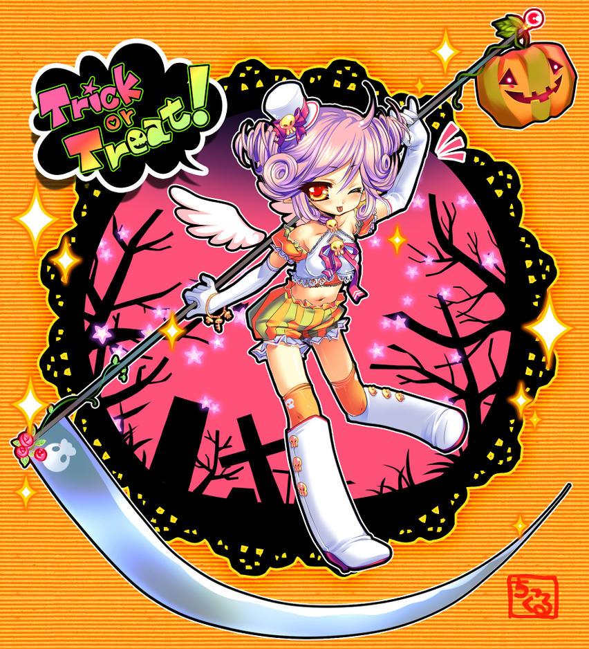 Collab:Tenshi-Tan by gimei