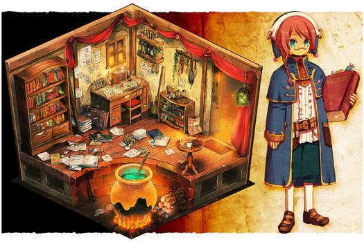 Scholar's room