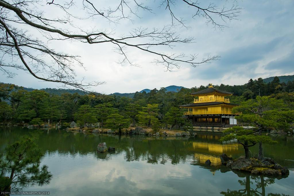 Golden Pavilion by ninjapeps