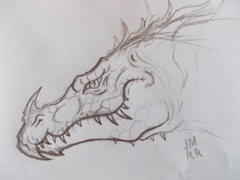 Protodragon (boceto) by Kanuky