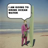 Joker Drinks Ocean Water