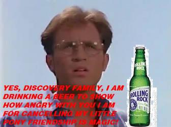 Billy Drinks A Rolling Rock Beer by MollyHaleIsMyFriend