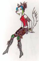 portrait of Raven by -mirr-