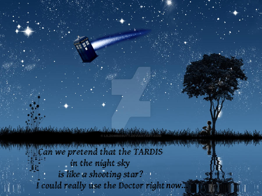 Wish Upon A Tardis By Lilzombiebutt On Deviantart