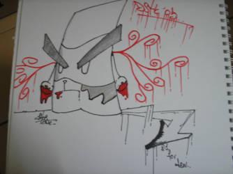 fast sketch.. by shocone