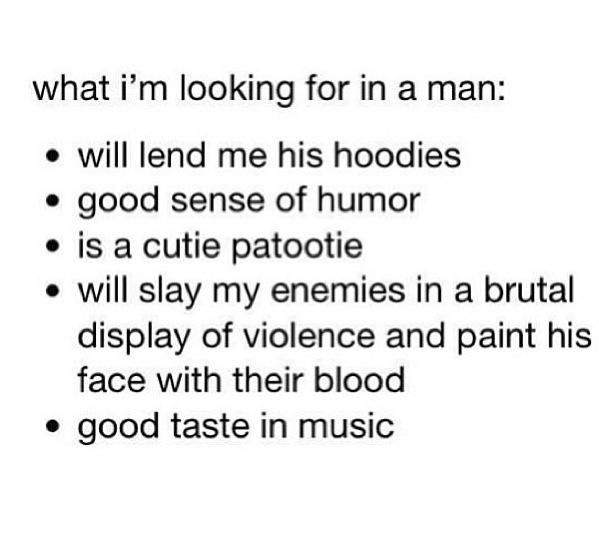 What I M Looking For In A Guy