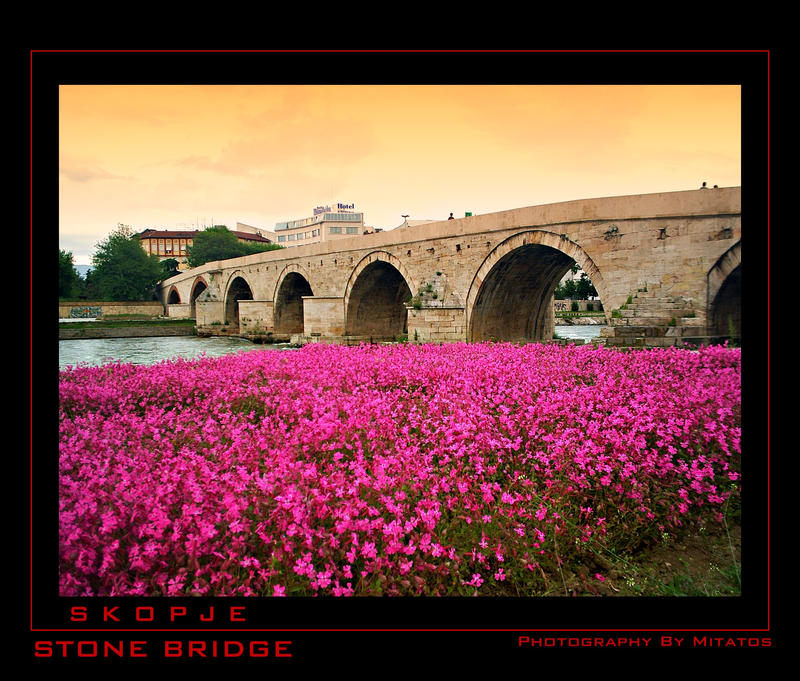 Skopje Stone Bridge by mitatos