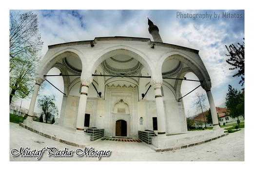 Mustaf Pasha Mosque  Skopje