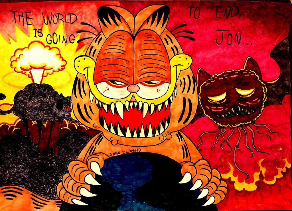 Garfield Gameboy D Fanart By Rwgn On Deviantart