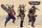 Wasteland Empires: Characters