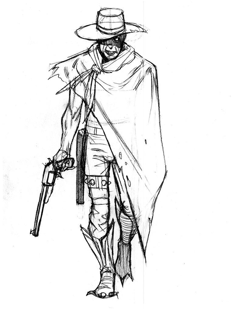 Zombie Cowboy Wallpaper