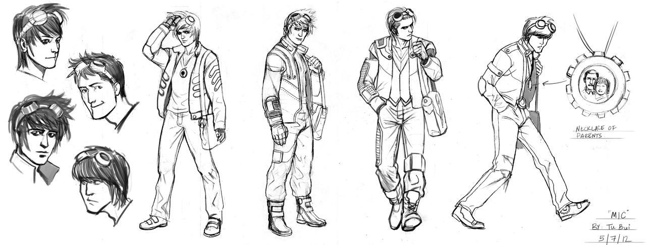 Male Character Design Sheet : Character design sci fi male by artoftu on deviantart