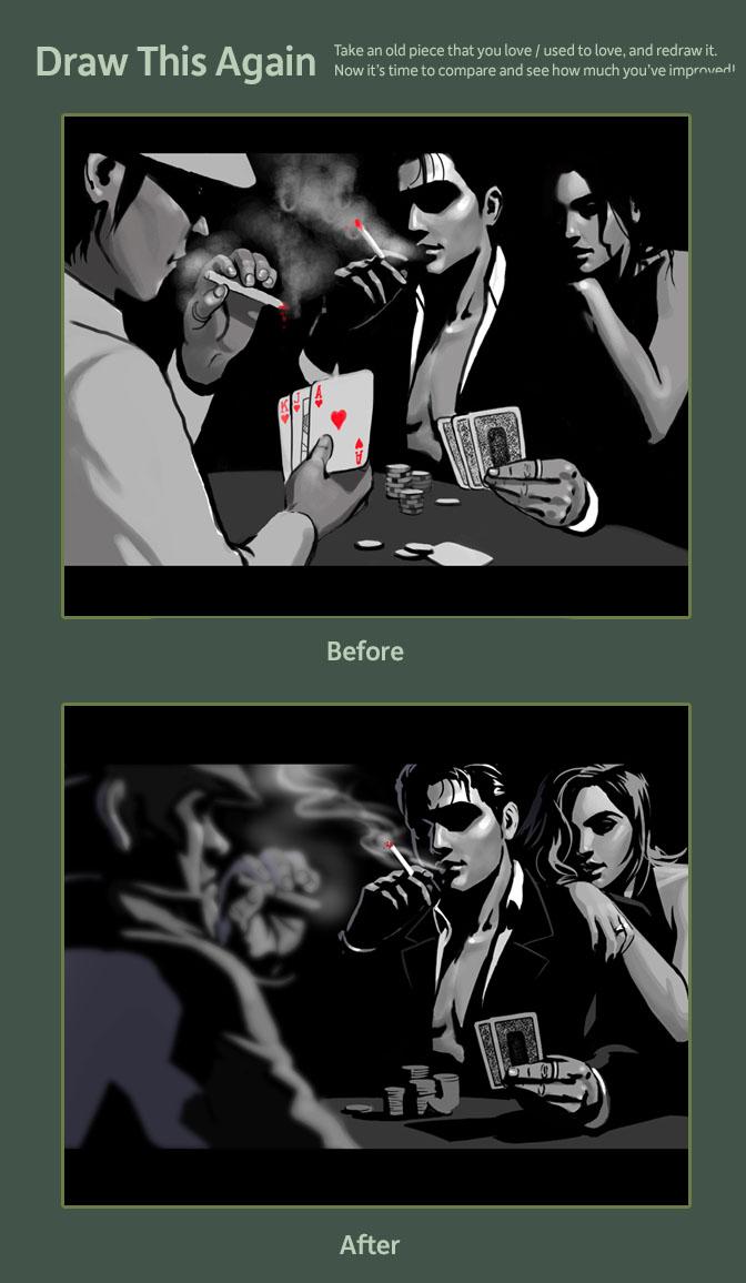 Draw This Again: Noir 1 by ArtofTu