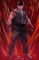 Evil Ryu by ArtofTu