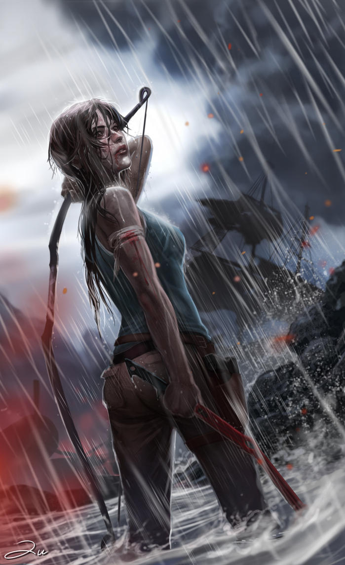 Tomb Raider Reborn Contest Entry by ArtofTu