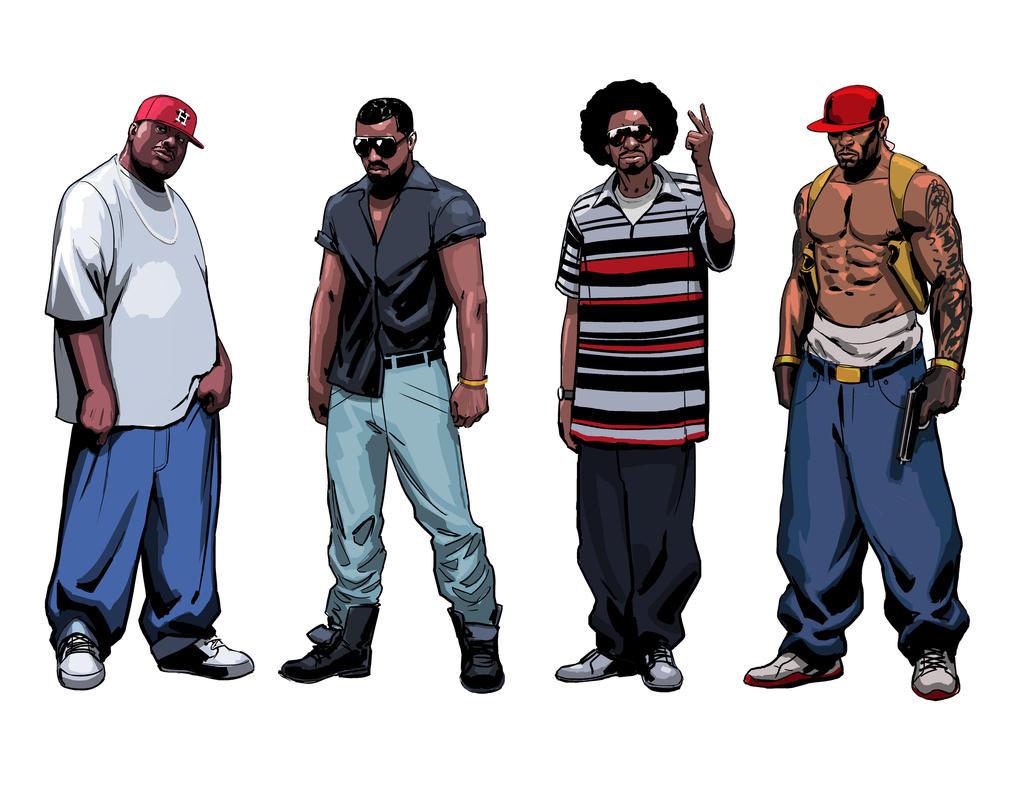 A Z Cartoon Characters Rap : Rappers by artoftu on deviantart