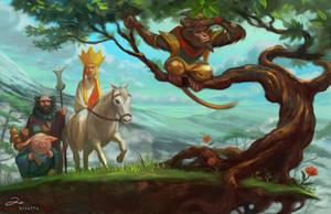 Journey to the West by ArtofTu