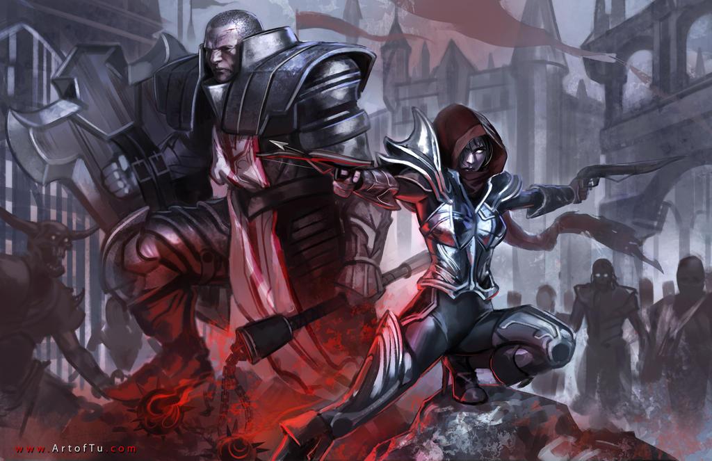 Diablo 3 Contest Entry by ArtofTu