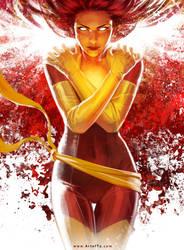 X-MEN: Phoenix by ArtofTu