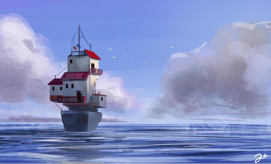 Boathouse by ArtofTu