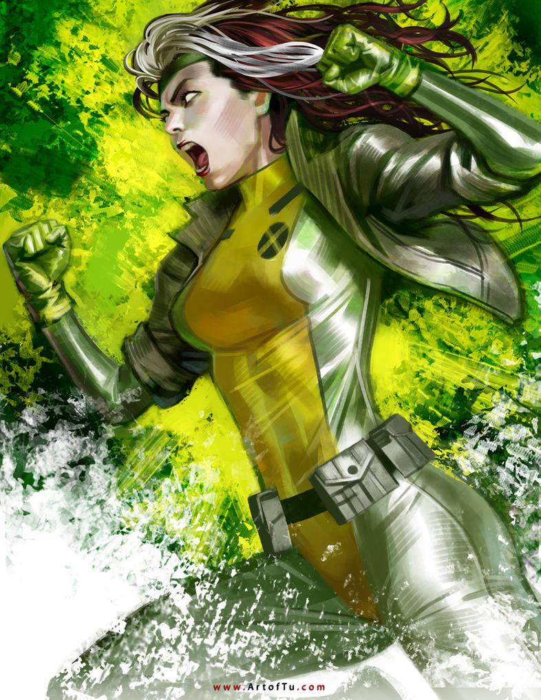 X-MEN: Rogue by ArtofTu