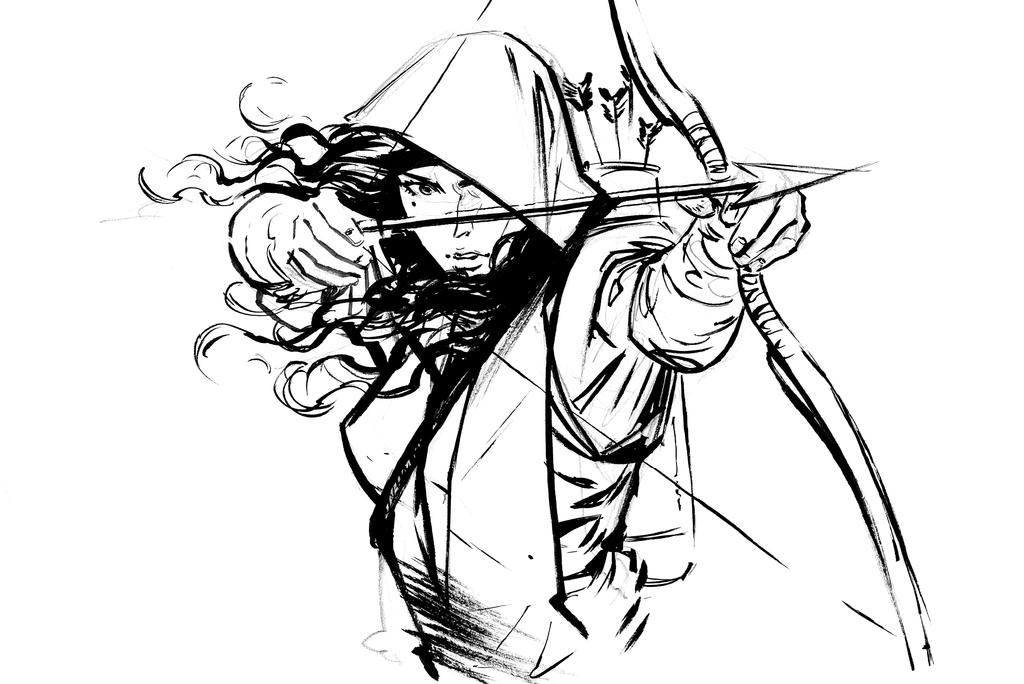 Rogue Archer by ArtofTu