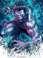 X-MEN: Beast by ArtofTu