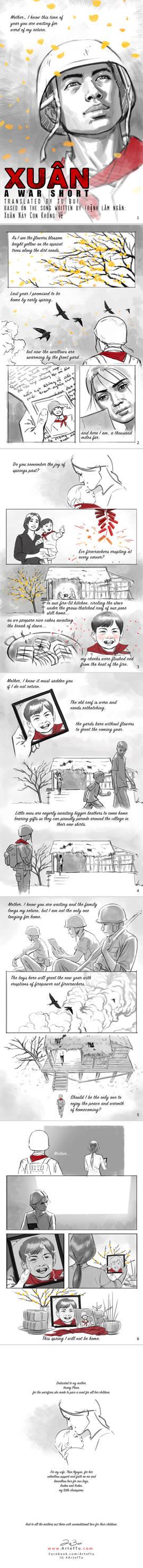 Xuan Short War Comic