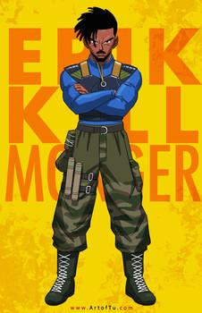 Erik Killmonger - DBZ Style