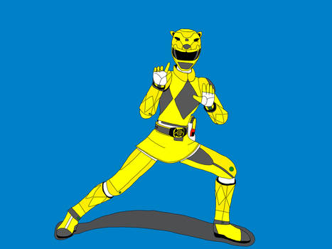 Power Rangers: Sabertooth Yellow