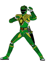 Power Rangers: Green Dragon