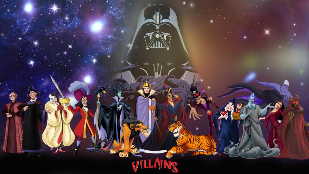 Disney Villains Wallpaper By Gameshalo70 On Deviantart