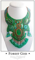 Necklace: Forest God