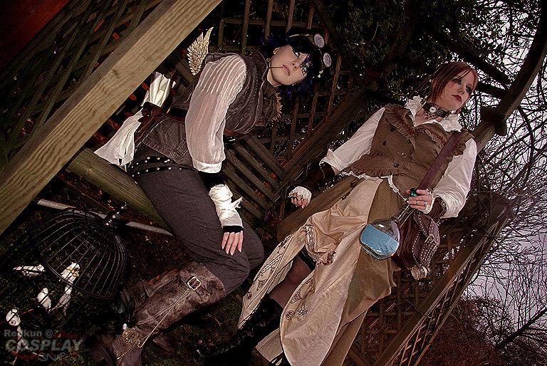 Steampunk Girls by Redkun