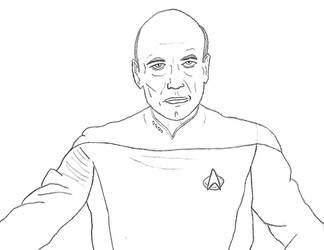 Captain Jean-Luc Picard by WarpFactor5