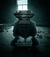 Weird Writer by crilleb50