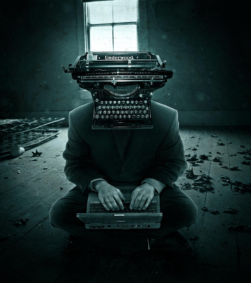 Weird Writer by crilleb50