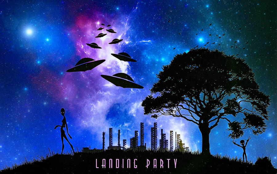 Landing Party by crilleb50