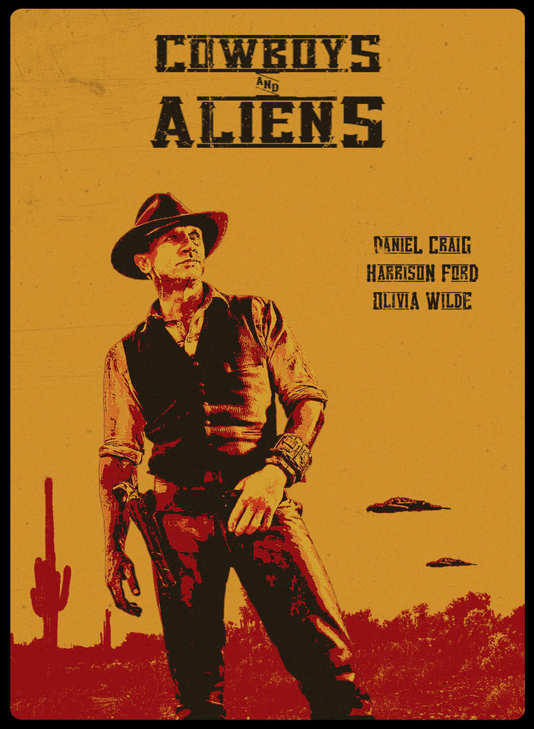 Cowboys and Aliens by crilleb50