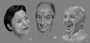 Drawing Practise: Faces 3