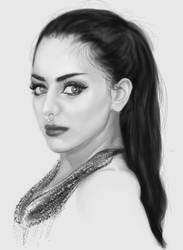 Drawing Practise 15: Mahafsoun