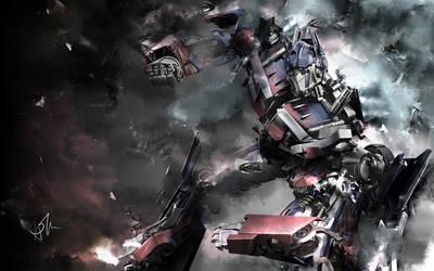Transformers Optimus Prime by RaptorKraine