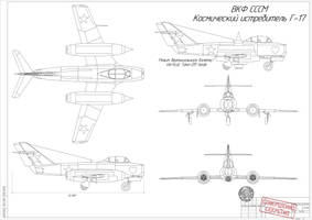 [Sailor Union] G-17 the Soviet space fighter by ShockwaveDecepticon