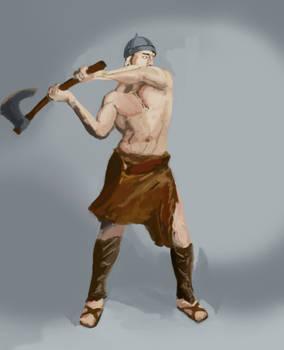 Barbarian color study
