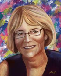 Art Teacher Portrait