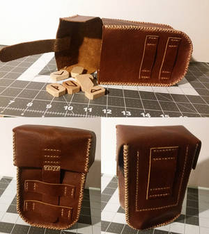 Belt Pouch With Lid