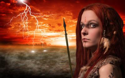 Warrior Girl by DocSchneidi