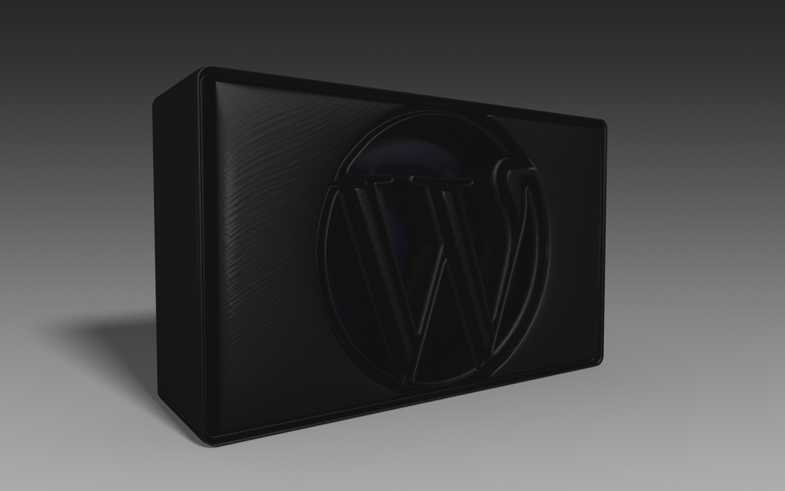 Wordpress Cube 3D by DocSchneidi